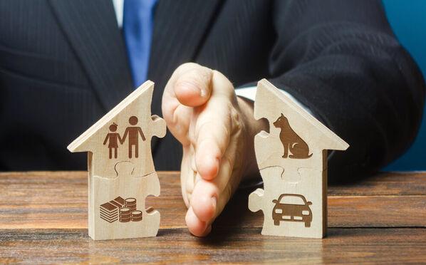 Hoe de woning verdelen na een scheiding: alles over het verdeelrecht of de miserietaks